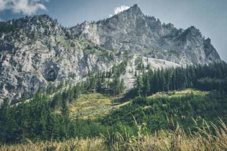 Ansicht eines Hochgebirges