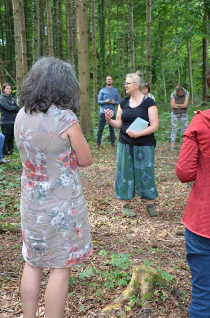 Ressource Wald, Referentin, Teilnehmende