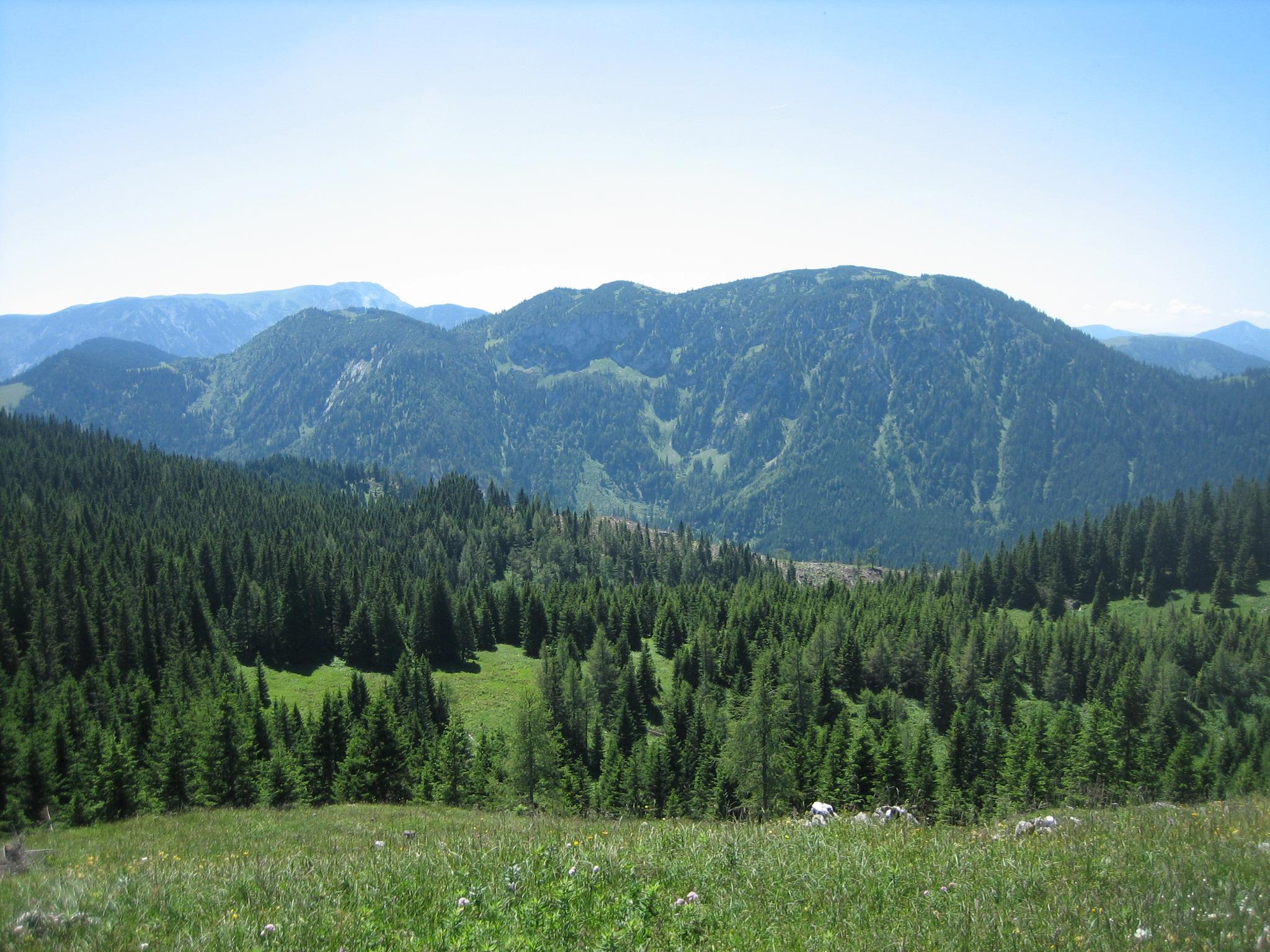 Blick vom Berg Hohe Student