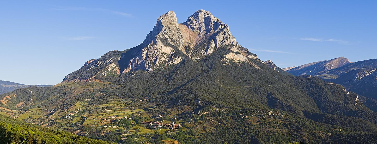 Berg in Katalonien