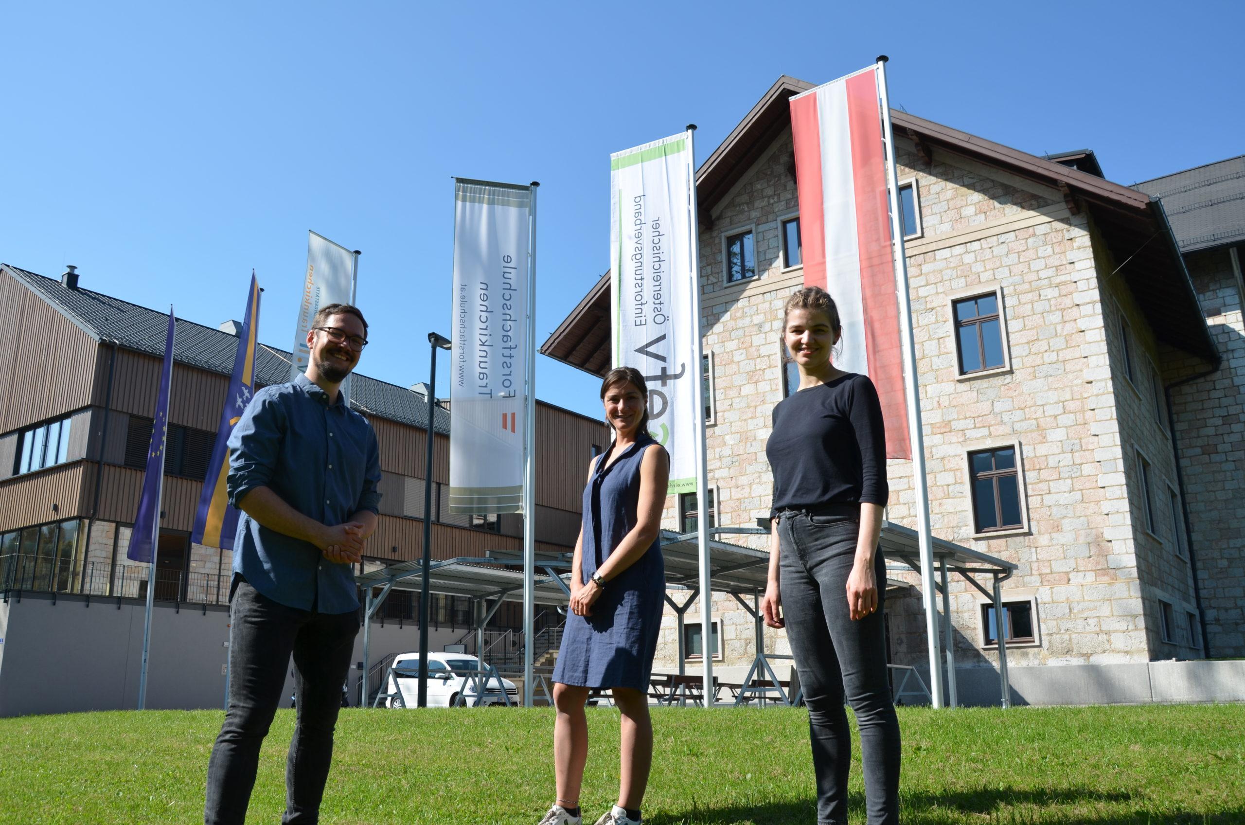 Green care WALD-Tage Team vor FAST Traunkirchen