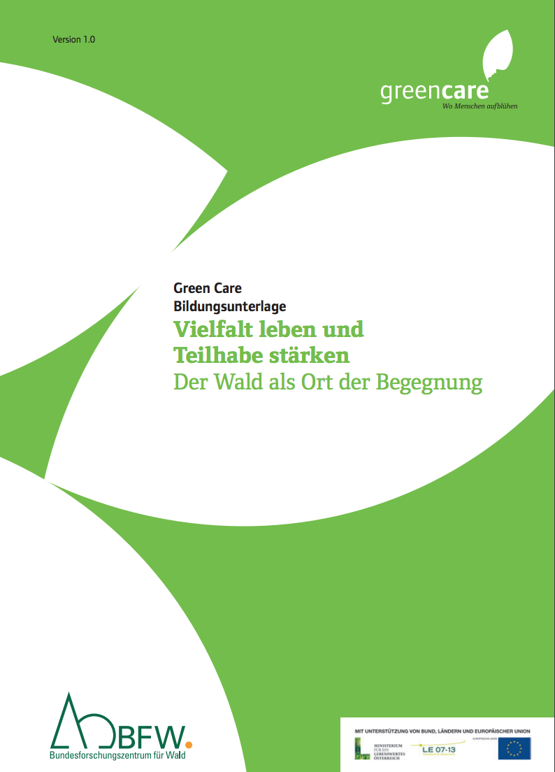 Bildungsunterlage Green Care WALD