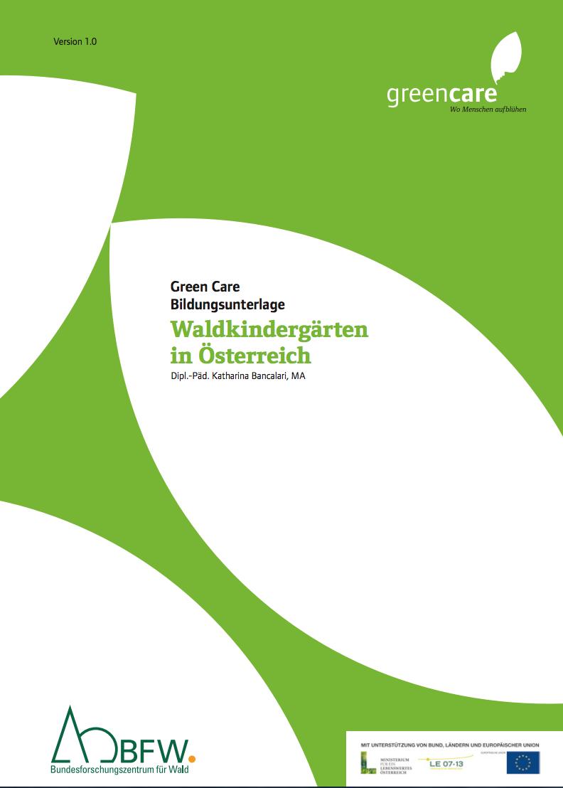Bildungsunterlage Waldkindergarten