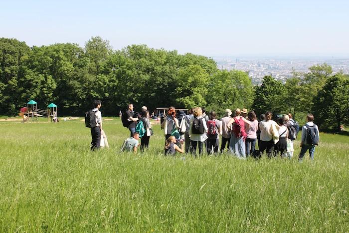 Exkursion auf den Hügeln von Wien