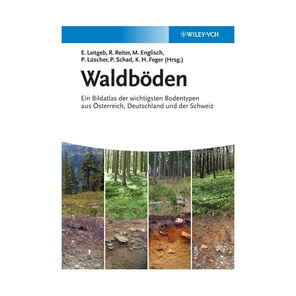 Titelseite Waldböden-Buch